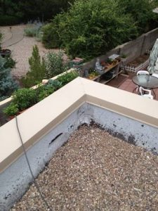 Metal Parapet Cap Grants NM
